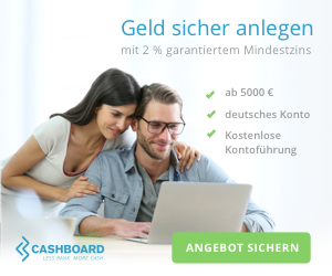 CASHBOARD - Alternative zum Tagesgeldkonto